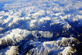Winter rocky mountains Stock Photography