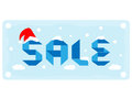 Winter sale Royalty Free Stock Photo