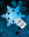 Winter for sale. Royalty Free Stock Photo
