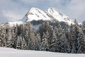 Winter Scene, Austria Royalty Free Stock Photo