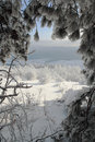 Winter scene in Bulgaria Royalty Free Stock Image