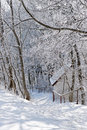 Winter scene, Germany Royalty Free Stock Photography