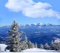 Winter scene in Slovakia