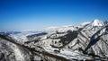 Winter season in Yuzawa, Niigata Prefecture, Japan