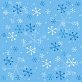 Winter semless pattern Stock Photos