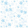 Winter semless pattern Stock Photo