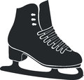 Winter skates the abstract for sports activities Royalty Free Stock Photography