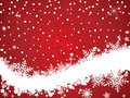 Winter snowflake background Stock Images