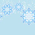 Winter snowflake seamless pattern this is file of eps format Stock Photo