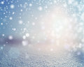 Winter snowy landscape background. Royalty Free Stock Photo