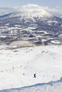 Winter sports at Niseko Resort, Hokkaido, Japan Royalty Free Stock Photo