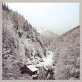 Winter tale at parang Royalty Free Stock Photos