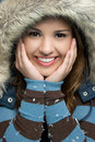 Winter Teen Royalty Free Stock Image