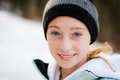Winter teen Stock Photography