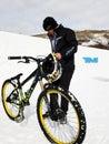 Winter TEVA Mointain Games Stock Photos