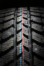 Winter tire. Royalty Free Stock Images