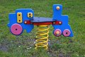 Wip wap a playset for children outdoor on a playground Royalty Free Stock Image