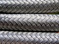 Wire braided hose Royalty Free Stock Photo