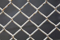 Wire fence close up background Stock Photography