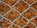 Wire fence detail Royalty Free Stock Photo
