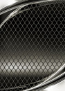 Wire mesh, black background Royalty Free Stock Images