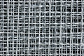 Wire mesh close up detail of Stock Photography