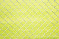 Wire mesh fence close up on green background Royalty Free Stock Images