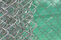 Wire mesh semi pattern iron with silver painted Royalty Free Stock Photo