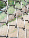 Wire mesh texture and blur background Royalty Free Stock Images