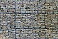 Wire mesh wall retaining background Royalty Free Stock Photography