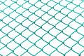 Wire mesh on a white background Stock Image