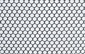 Wire mesh on white background Royalty Free Stock Photo