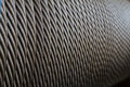 Wire rope texture Royalty Free Stock Photo