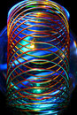 Wire spiral abstract Stock Image