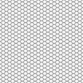 Wired fence. Chain link fence. Fish net. Net seamless pattern. Rope net vector silhouette. Fisherman hunting net. Royalty Free Stock Photo