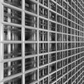 Wired space grid Royalty Free Stock Photography