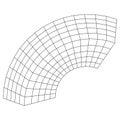 Wireframe Mesh Bend Box