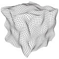 Wireframe Mesh Noise Box