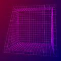 Wireframe Mesh Slice Box