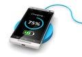 Wireless charging of smartphone
