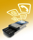 Wireless Communication Royalty Free Stock Photo