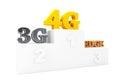 Wireless Communication Technology over Winners Podium Royalty Free Stock Photo