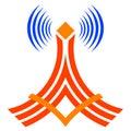 Wireless communication tower Royalty Free Stock Photo