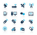 Wireless & Communications // Azure Series Royalty Free Stock Image