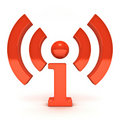 Wireless Icon Royalty Free Stock Photography