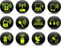Wireless icons Stock Photo