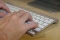 Wireless Keyboard Royalty Free Stock Photo