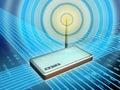 Wireless modem Royalty Free Stock Photo