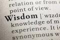 Wisdom Royalty Free Stock Photo