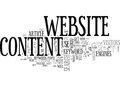 Wise Words On Website Content Word Cloud Royalty Free Stock Photo